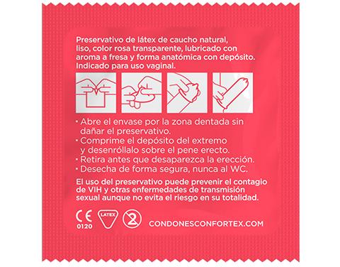 calidad condones confortex