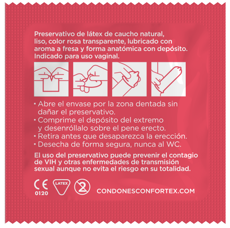 condones confortex fresa
